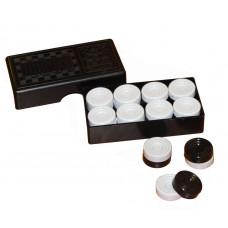 Астрон. Шашки (черная, коробка) арт.0039 /30