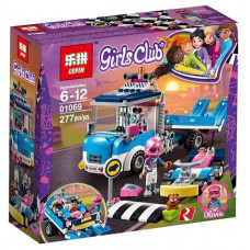 Конструктор GIRLS CLUB 277дет. 01069
