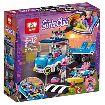 Конструктор GIRLS CLUB 277дет. 01069