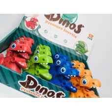 Игрушка заводная Динозаврик,87-4