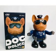Пёс полицейский танцующий муз., R03