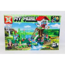 Конструктор  MY WORLD 1027