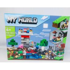 Конструктор  MY WORLD 1043
