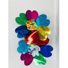 Вертушка Цветок(фольга), 3221-4