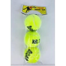 Мячики для тенниса 3 шт. в пак. 35422-11