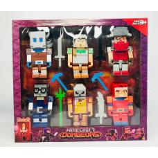 Набор фигурок Minecraft, 58017
