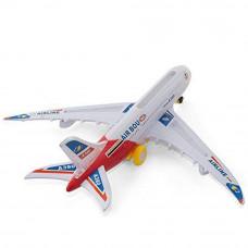 Игрушка самолёт на бат.А380 AIR BOU