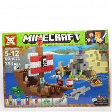 Констр. Minecraft  393 дет. 1023