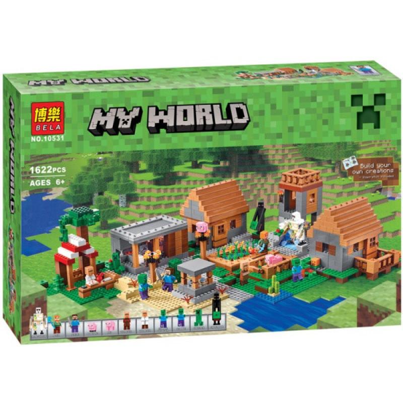 Конструктор MY World 1622дет. 10531