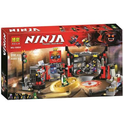 Конструктор NINJA Thunder Swordsman 10804