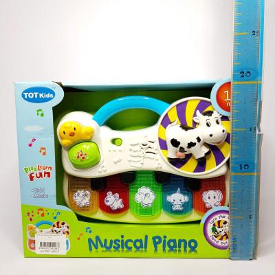 Игрушка пианино обучающее н/б 1090
