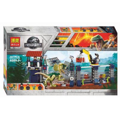 Констр. Dinosaur World, 307 дет, 10923