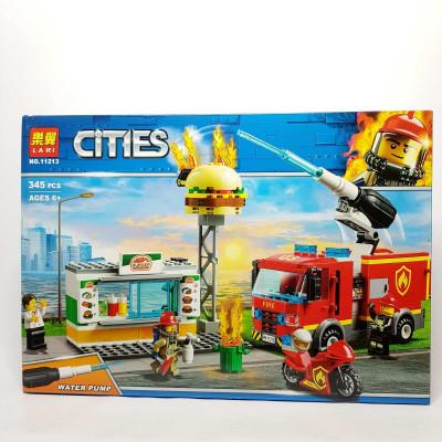Конструктор CITIES,345 дет  11213
