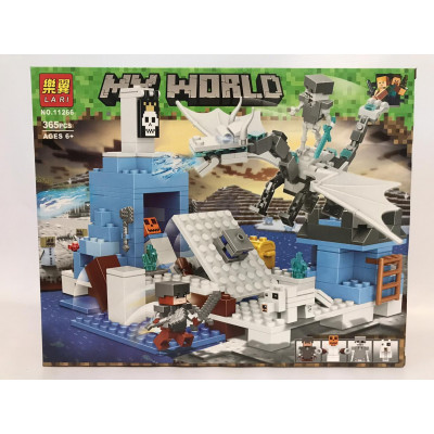 Конструктор My World,365 дет 11266