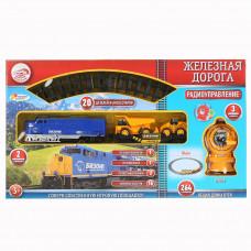 Железная дорога р/у, свет+звук, длина полотна 264см 1307F012-R