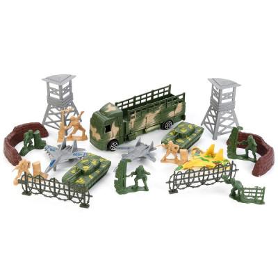 """Набор солдатиков """"Играем вместе"""" с военной техникой В1352385-R"""
