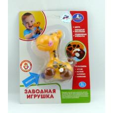 """Заводная игрушка """"Умка"""" """"Жираф"""" на блист. В1616116-R"""