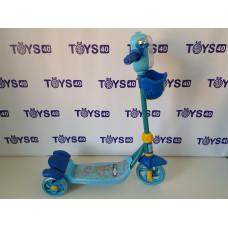 Самокат детский 3х колёсный 3636