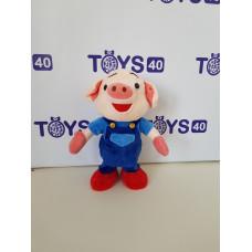Муз. игрушка Поросенок, большой танцует и поет,61118