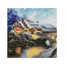 "Алмаз. Мозаика""Зимний пейзаж"" AS20005"