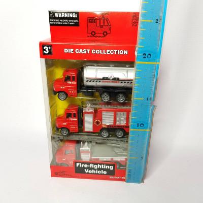 Набор пожарных машинок, 2214-18