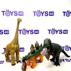 Динозавр мал. резинов. звук, 2381