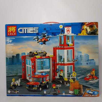 Конструктор CITIES,537 дет  28049