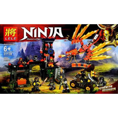 Конструктор NINJA 593дет. 31138