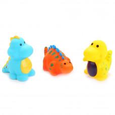 """Игрушки для ванной """"Играем вместе"""" 3 дракона в сетке LXB342-343-345"""