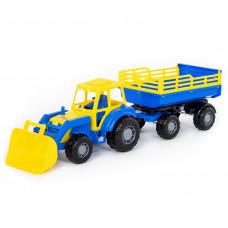 """"""" Мастер"""",трактор с прицепом и ковшом №2 35288"""