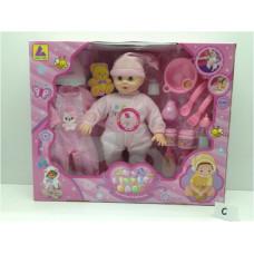 Игр. набор Кукла с аксес., КТ4200