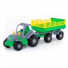 Трактор с прицепом №2 Крепыш 44563