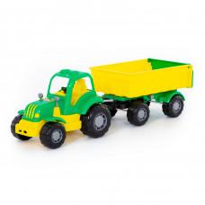 Трактор с прицепом №1 Крепыш 44792