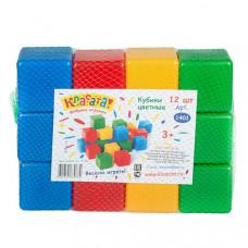 1401 Набор кубиков 12шт., Р49977