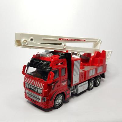 Пожарная машинка со стрелой н/б, 507211