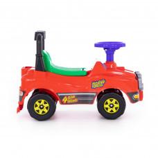 Автомобиль Джип-каталка красный 62857