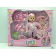 Игр. набор Кукла с аксес., КТ6300