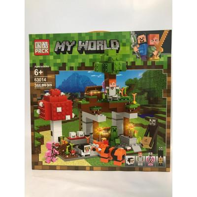 Конструктор My World, 366 дет., 63014