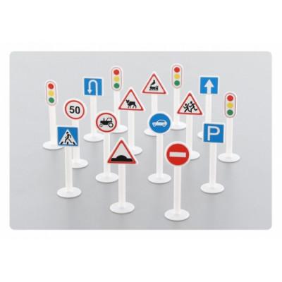 Набор дорожных знаков (16 элементов) 64196
