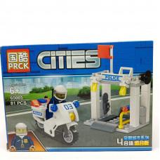 Конструктор CITIES,81-85 дет  65005