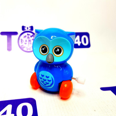 Игрушка заводная Сова 6621