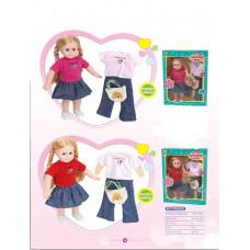 Игр. набор Кукла с аксес., КТ7000