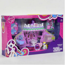 Игровой набор домик My Loveing Pony №768