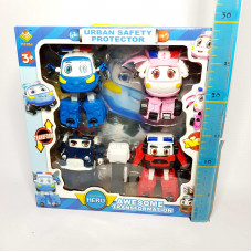 Набор Роботов-машинок 4 шт.  83168-JC4