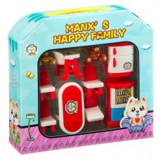 Игровой набор домик с акссес.,столовая, 21*20*5,5см арт. HY-035AE Д85817