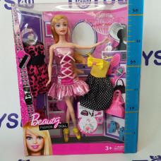 Кукла  c одеждой в кор.и аксес.   869