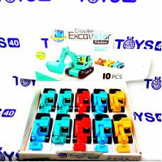 Игрушка инерц. Экскаватор 8815