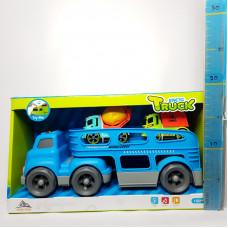 Игр. набор Автовоз с машинками, 933-154