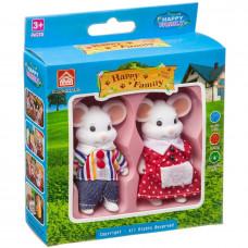 Игр. набор Happy Family фигурки зверюшек, 2 мышки,Д93763