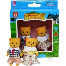 Игр. набор Happy Family фигурки зверюшек, 2 мишки,Д93764